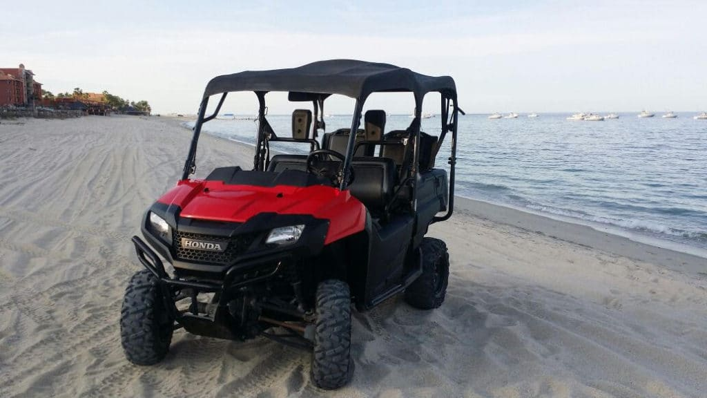 Side by side quad rental Los Barriles BCS